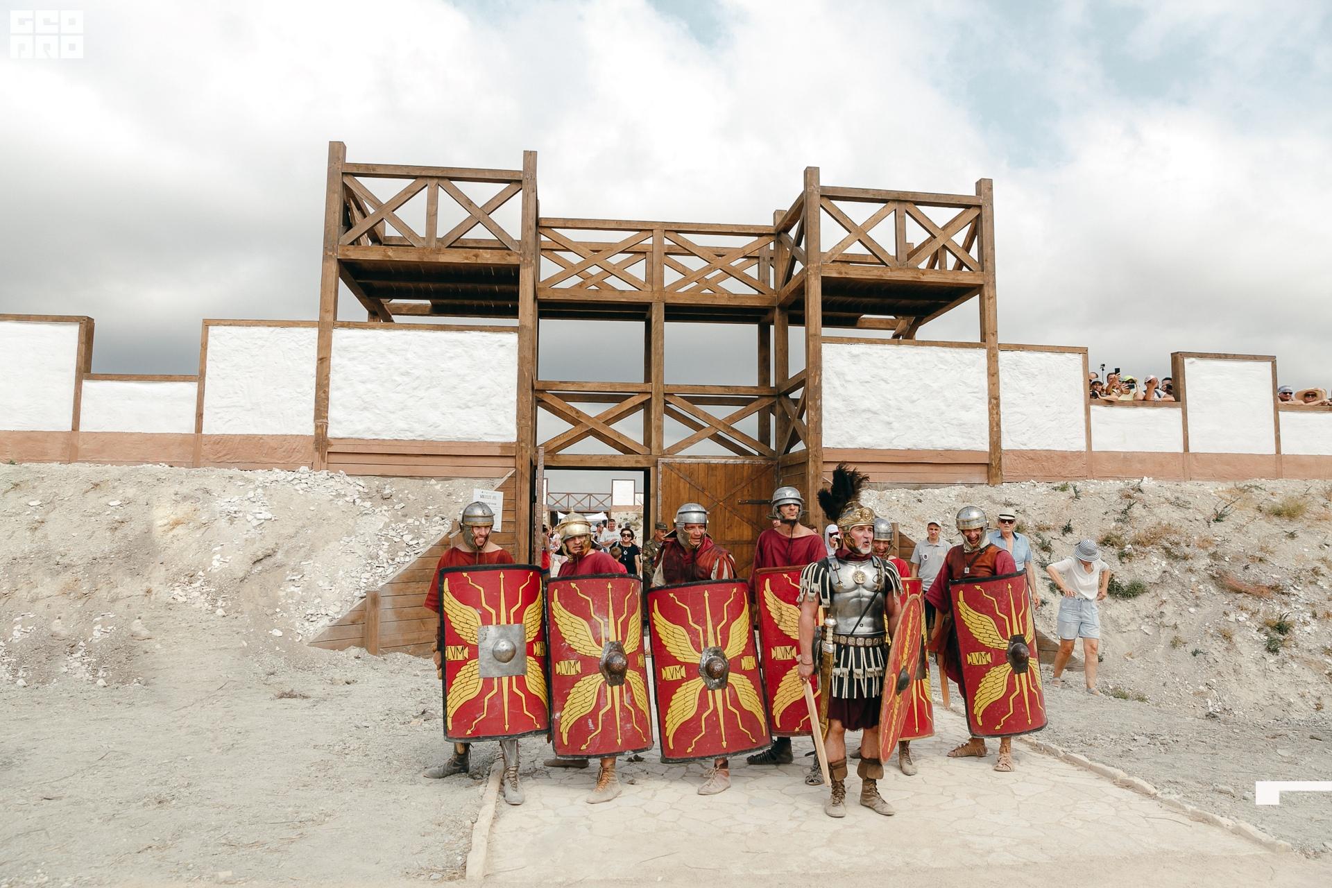 Экскурсия в Античность + Шоу гладиаторов