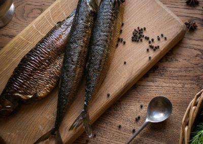 рыба копченая в специях