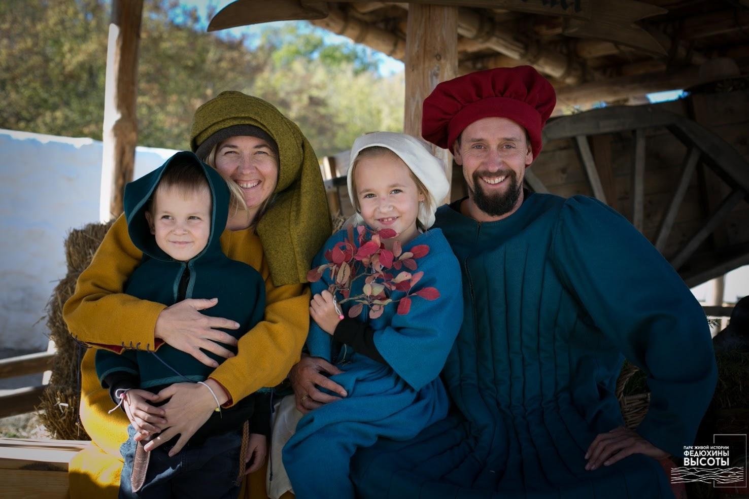 фотосессия в средневековых костюмах